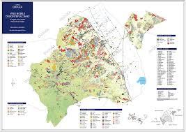 Orvieto Italy Map by Enogea Vino Nobile Di Montepulciano