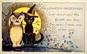 Reproduction Vintage Halloween Decorations by Free Vintage Halloween I Halloween E Card