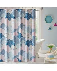 Shower Curtain Sale Fall Sale Urban Habitat Kids Cloud Shower Curtain In Purple Blue
