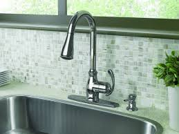 sink u0026 faucet giagni fresco stainless steel handle pull down