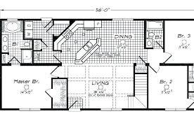 ranch style open floor plans ranch house floor plans open plan farmhouse floor plans