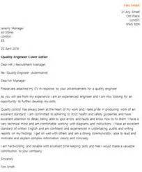 quality engineer resignation letter sample job application