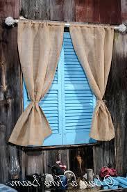 Blue Burlap Curtains Fantastic Blue Burlap Curtains Decor With Blue Burlap Curtains