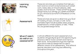 6a science worksheet descriptors