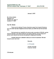 A Sample Of A Business Letter by Block Letters Style Thebridgesummit Co