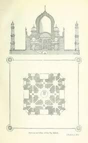 Taj Mahal Floor Plan by Plates Aζ South Asia