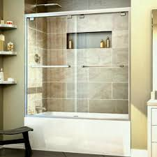 Interior Bathroom Door Bathroom Frameless Sliding Shower Doors Lowes Glass Door