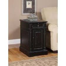 Chair Side End Table Black Chairside End Table Lovetoknow