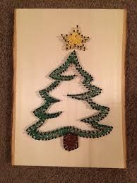 christmas tree string art string art pinterest string art