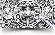 aztec calendar tattoo u20aa aztec tattoos u20aa aztec mayan inca tattoo
