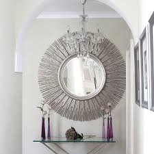 Hallway Mirrors Hallway Mirror For Create Striking And Bright Spaces