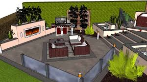 a beautiful contemporary 3d garden design youtube