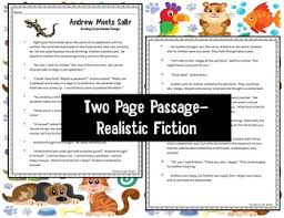 grade reading comprehension passage and multiple choice test