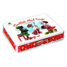 campbells christmas dogs shortbread tin 150g at wilko com