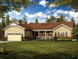 Simple Ranch House Plans House Plan 90274 At Familyhomeplans Com