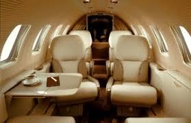 Cessna Citation X Interior Private Jet Charter Cessna Citation Bravo Lunajets