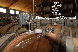 thanksgiving weekend open house at roco winery