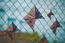 chain link fence art lacing strings inside an artist u0027s mind