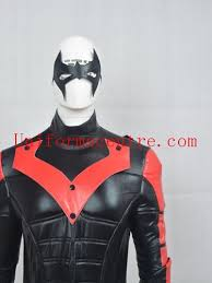 Halloween Costumes Nightwing Batman Arkham Nightwing Men Boys Cosplay Costume Red Version