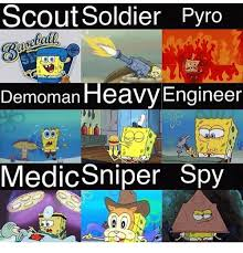 Pyro Meme - scout soldier pyro demoman heavy engineer ola medic sniper spy