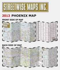 Phx Map Streetwise Phoenix Map Laminated City Center Street Map Of