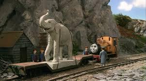 Elephant Statue The Elephant Statue Thomas The Tank Engine Wikia Fandom