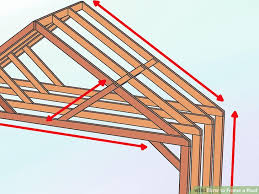 How To Cap A Hip Roof How To Frame A Roof With Pictures Wikihow