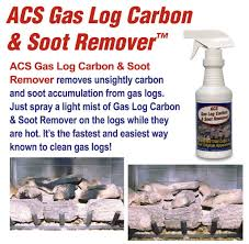 amazon com acs gas log cleaner removes carbon and soot from