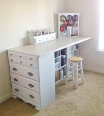 20 of the best upcycled furniture ideas craft station