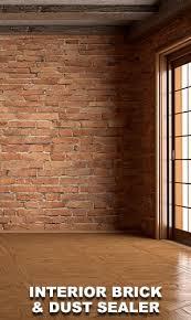 interior brick and dust sealer matt finish