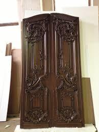 wood carved front entrance door door design pinterest