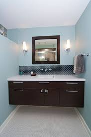 Bathroom Sconce Height 42 Bathroom Vanity Bathroom Contemporary With Baseboards Bathroom