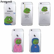 Iphone 4s Meme - arsmundi 2018 new pepe memes sad frog phone cases for iphone 4s 5c