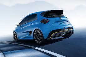 renault renault zoe e sport muscles up with 460bhp ev hyper hatch by car