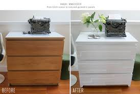 painting ikea dresser making over the malm 3 drawer dresser was actually very easy it s