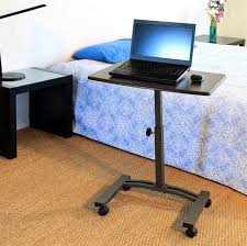 Mobile Laptop Desks Mobile Laptop Desk Cart Table Stand Portable Computer Rolling