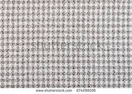 Black And White Table Cloth Black White Tablecloth Fabric Texture Pattern Stock Photo