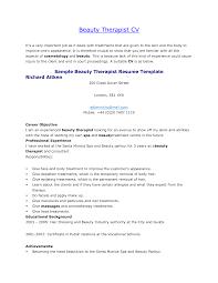 Blank Sample Resume by Resume Sample Cosmetology Resume