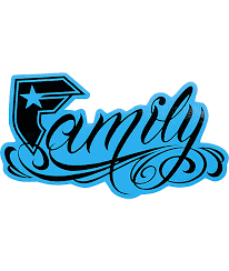 straps black blue 6 family sticker zumiez