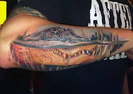 60 alligator tattoo designs for men cool crocodiles