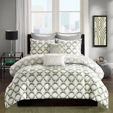 Green And White Duvet Astonishing Hunter Green Bedding Sets 39 With Additional Best