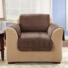 Furniture Throw Covers For Sofa by Surefit Quilted Velvet Deluxe Chair Pet Throw Cover Walmart Com