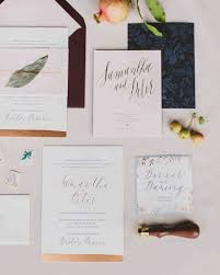 wedding invitations with pictures 29 ideas for unique wedding invitations martha stewart weddings