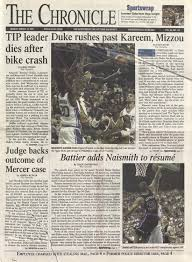 march 19 2001 by duke chronicle print archives issuu