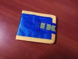 ikea wallet blue bag wallet recycling wallet ikea frakta