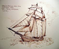 sketches for old pirate ship sketch www sketchesxo com