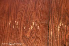 fix for water damaged wood dining room tables