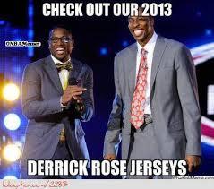 Derrick Rose Jersey Meme - memes of the week lin wilt score 100 rose jerseys oden