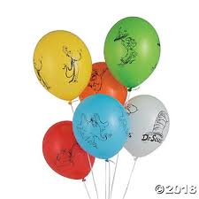 dr seuss balloons dr seuss favorites 12 balloons trading