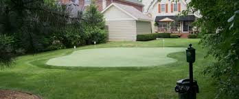 Turf For Backyard by Michigan Backyard Golf Putting Greens Southwest Greens